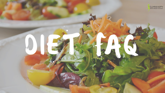 Commonly asked diet related questions