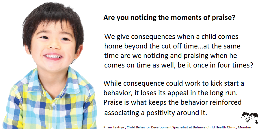 Are you noticing the moments of praise?