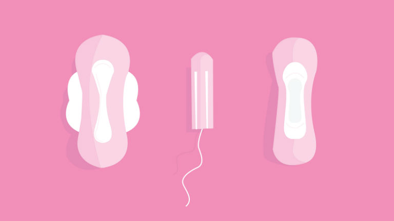 Your daughter's first period-Help them be ready